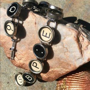 Artisan Scrabble Bracelet